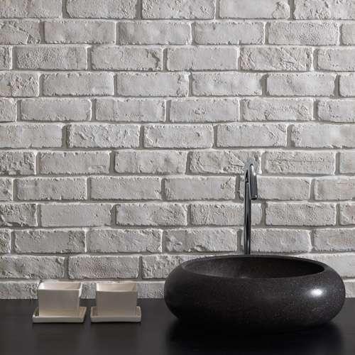 Mobili lavelli rivestimento esterno con finti mattoncini for Mattoni finti per interni