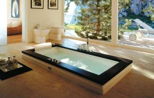 Ceramiche de matteis lucera vasca idromassaggio aura uno della ditta jacuzzi - Vasca da bagno incasso prezzi ...
