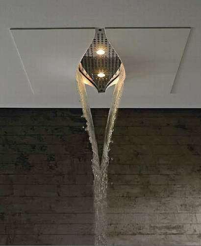 Ceramiche de matteis lucera soffione doccia virgin della - Soffione della doccia ...