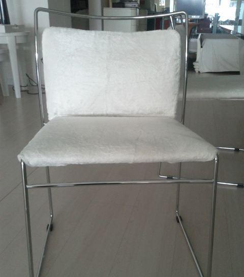 Ceramiche de matteis lucera sedia tulu della ditta simon for Outlet della sedia milano