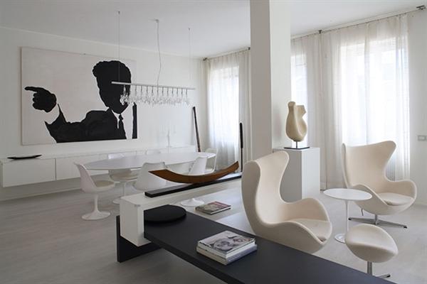Ceramiche De Matteis Lucera Tavolino Ovale In Marmo Tulip